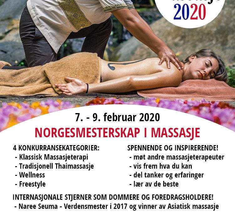 Norgesmesterskapet i Massasje 2020