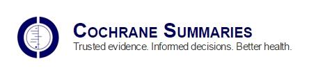 Cochrane Summaries