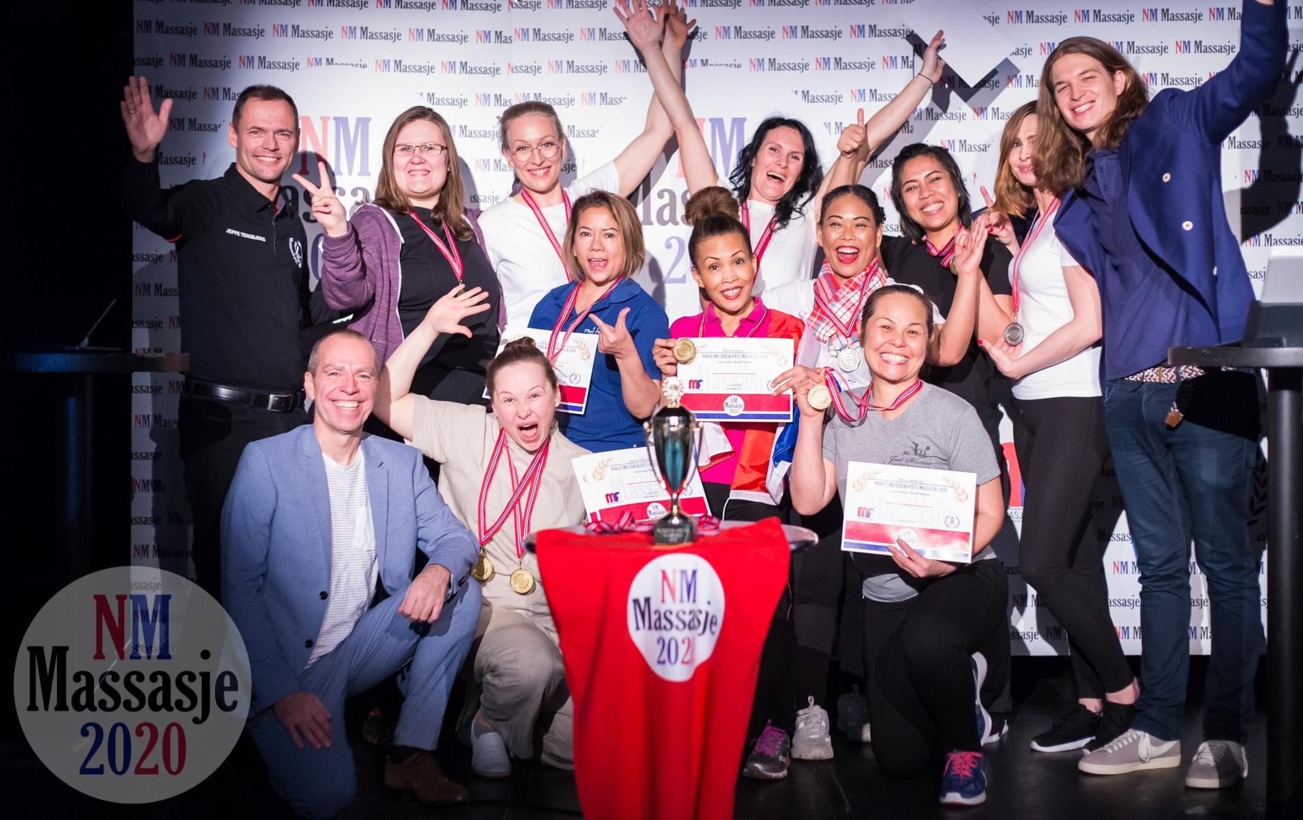 Medaljevinnerne - Alle Kategorier - Norgesmesterskapet i Massasje 2020